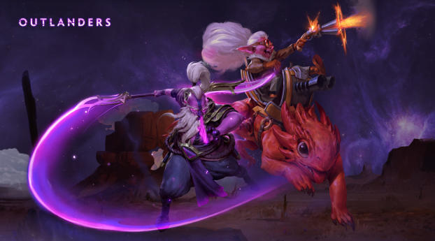 HD Wallpaper | Background Image Dota 2 The Outlanders