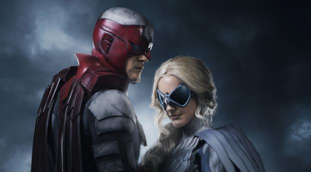 HD Wallpaper | Background Image Dove and Hawk in Titans (TV Show)