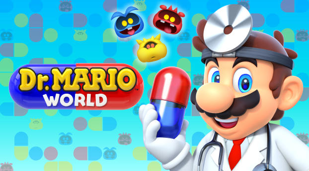 HD Wallpaper | Background Image Dr. Mario World Android iOS