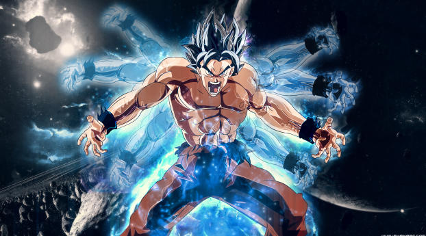 Dragon Ball Super Goku Angry Wallpaper
