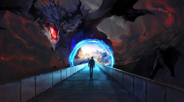 HD Wallpaper   Background Image Dragon Pit Ring