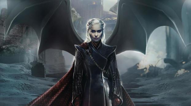 HD Wallpaper | Background Image Dragon Queen GOT