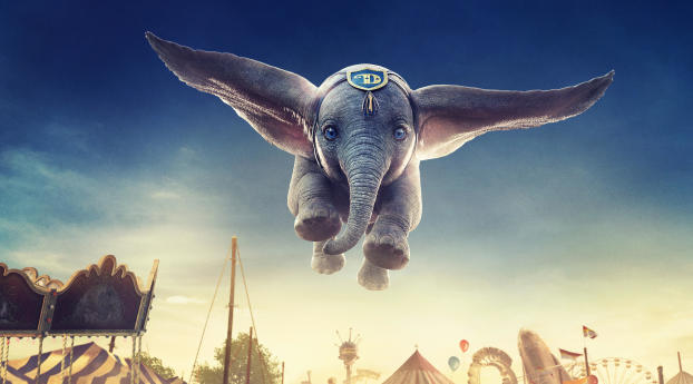 HD Wallpaper | Background Image Dumbo 2019 Movie