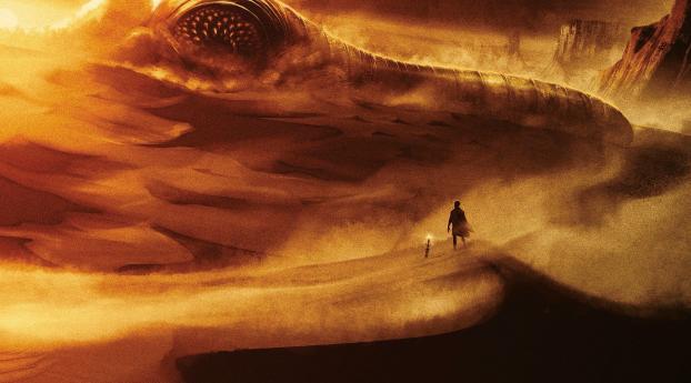 HD Wallpaper | Background Image Dune Movie Concept Art 2020