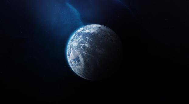 HD Wallpaper | Background Image Earth From Outer Space
