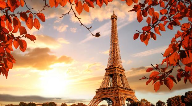 480x854 Eiffel Tower In Autumn France Paris Fall Android One Mobile Wallpaper Hd City 4k Wallpapers Images Photos And Background