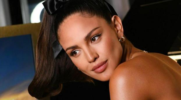 Eiza Gonzalez Actress Black Dress 2021 Wallpaper