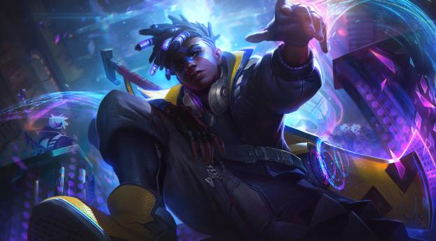 HD Wallpaper | Background Image Ekko League of Legends