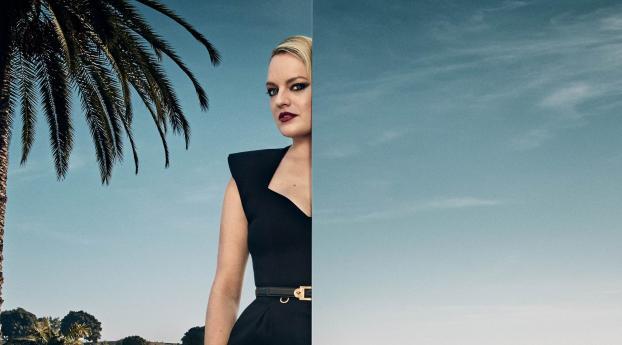 HD Wallpaper | Background Image Elisabeth Moss 2020