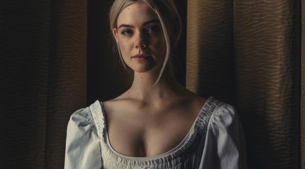 HD Wallpaper | Background Image Elle Fanning Stunning Portrait