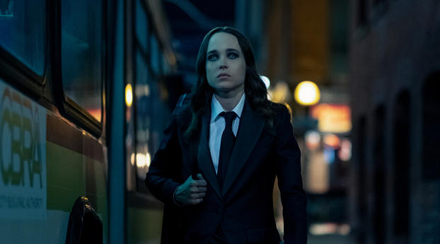 HD Wallpaper | Background Image Ellen Page In The Umbrella Academy