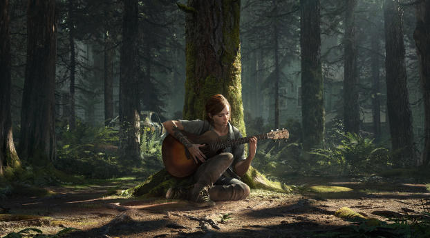 Ellie  The Last of Us 2 Wallpaper
