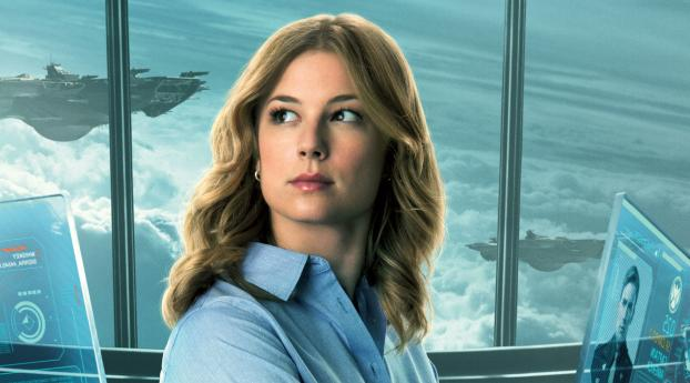 Emily VanCamp as Sharon Carter in The Falcon and the Winter Soldier Wallpaper 1680x1050 Resolution