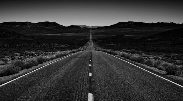 HD Wallpaper | Background Image Endless Road