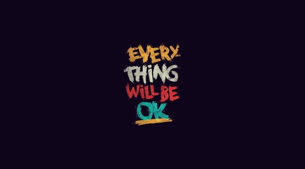 HD Wallpaper | Background Image Everything will be OK