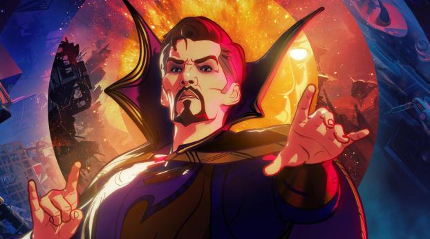 Evil Doctor Strange What if Wallpaper