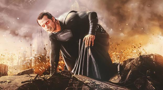 Evil Superman Synder Cut Art Wallpaper