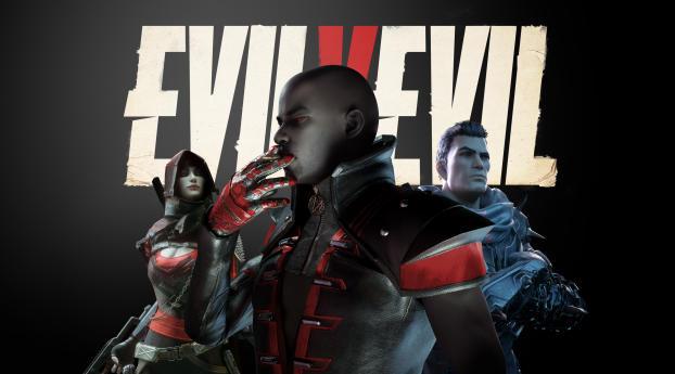 HD Wallpaper | Background Image Evil v Evil Poster