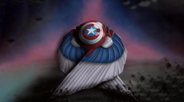 Falcon The Captain America Wallpaper 1080x1920 Resolution