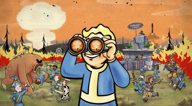 HD Wallpaper   Background Image Fallout 76 Nuclear Winter