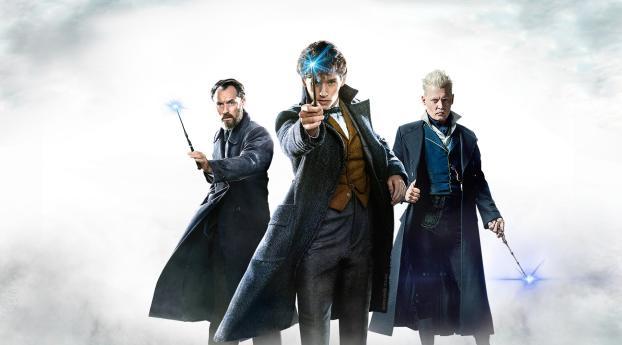HD Wallpaper | Background Image Fantastic Beasts The Crimes Of Grindelwald 2019 Poster Artwork