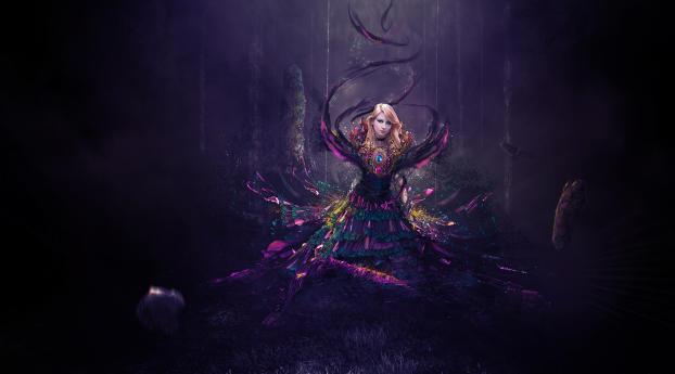HD Wallpaper | Background Image Fantasy Digital Blonde Women