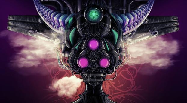 wxl fantasy psychedelic art 7795