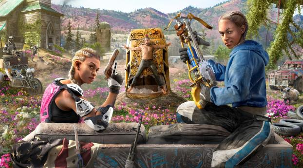 HD Wallpaper   Background Image Far Cry New Dawn Poster