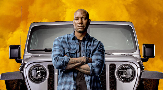 Fast And Furious 2020 Movie Tyrese Gibson Wallpaper 1125x2436 Resolution