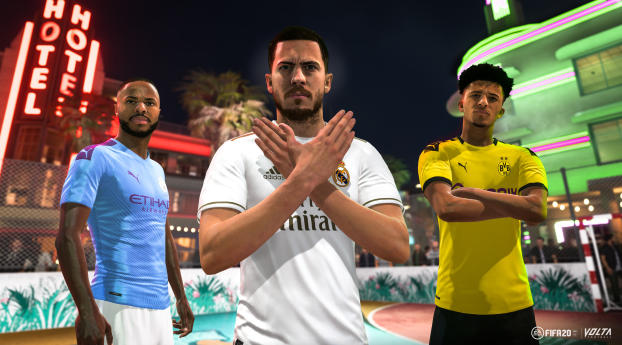 HD Wallpaper | Background Image FIFA 20