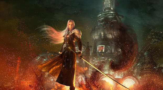 HD Wallpaper | Background Image Final Fantasy VII Remake