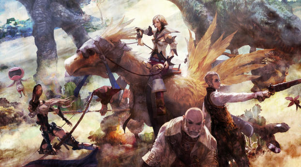 480x854 Final Fantasy Xii The Zodiac Age Android One Mobile
