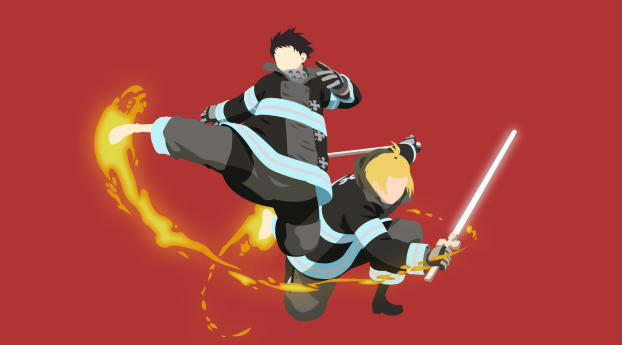 Fire Force Anime Wallpaper