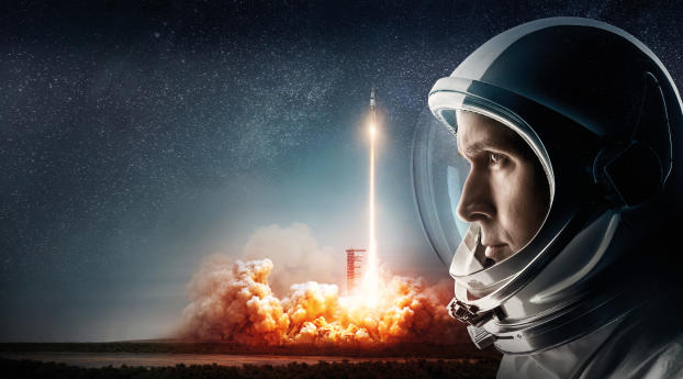 First Man Movie Official Poster 2018 Wallpaper 2560x1700 Resolution