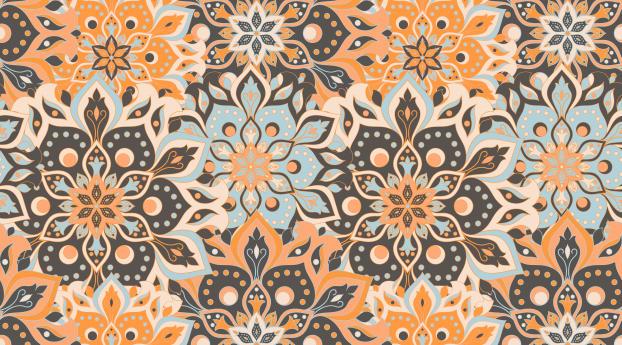 Flower Pattern Wallpaper 1152x864 Resolution