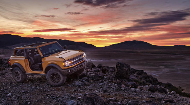 HD Wallpaper   Background Image Ford Bronco