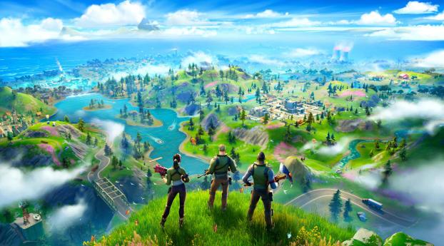 Fortnite Battle Royale Chapter 2 Wallpaper