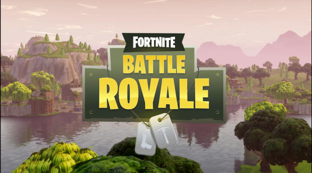 Fortnite Battle Royale Game Poster Wallpaper in 1440x2960 Resolution