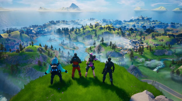 HD Wallpaper | Background Image Fortnite Chapter 2 Game
