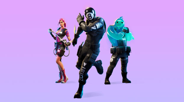 HD Wallpaper | Background Image Fortnite Chapter 2 Season 1 Battle Pass Skins