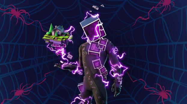 Fortnite Cubed Cool HD Gaming Wallpaper