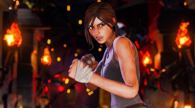 Fortnite New Skin Lara Croft Wallpaper