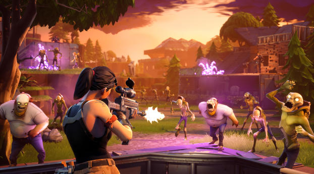 HD Wallpaper | Background Image Fortnite Ps4 Gameplay