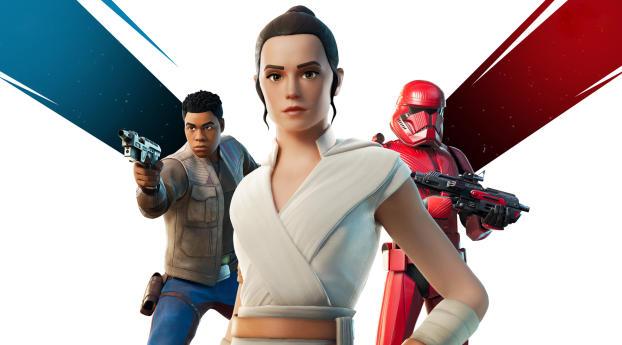 HD Wallpaper | Background Image Fortnite Star Wars 9 Rise of Skywalker