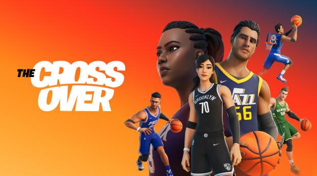 Fortnite X NBA The Crossover Wallpaper