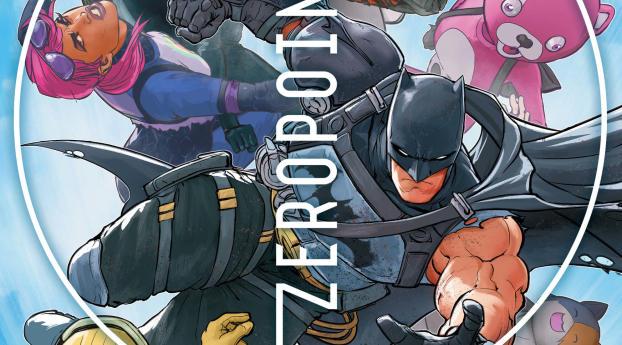 Fortnite Zero Point x Batman Gotham City Wallpaper