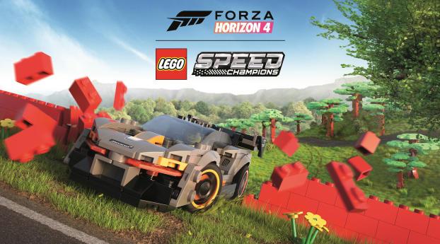 HD Wallpaper | Background Image Forza Horizon 4 Lego