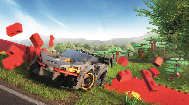HD Wallpaper | Background Image Forza Horizon Lego