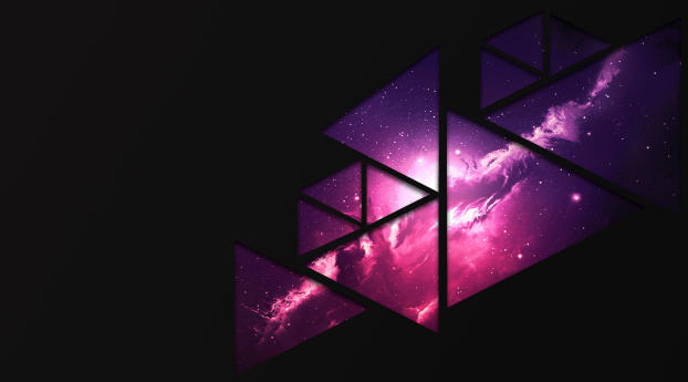 HD Wallpaper | Background Image Fractal Space