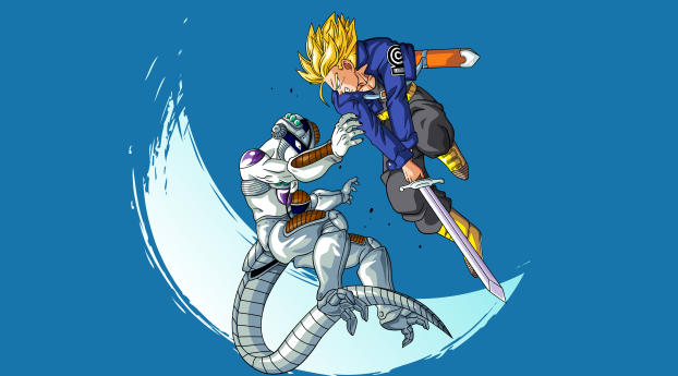 wxl freeza vs trunks dragon ball 68806